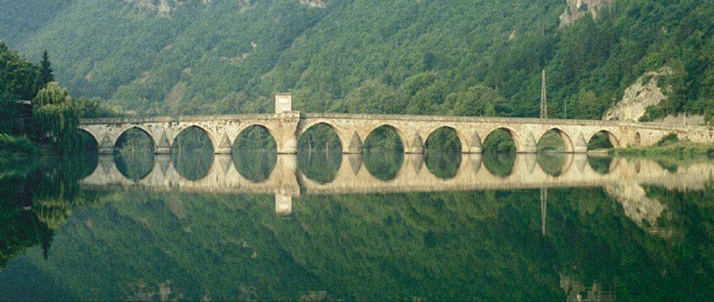 Un pont sur la Drina, Xavier Lukomski, 2005